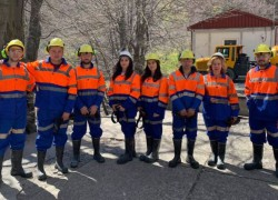"""ФПТН во посета на Рудникот """"Саса"""""""